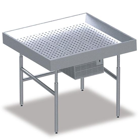 Fischkühltheke, B=1250 mm