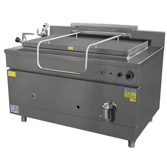 Gas-Gastronormkochkessel, indirekte Beheizung, 400 Liter