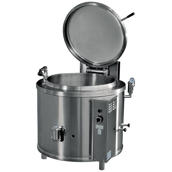 Elektro-Kochkessel, runde Version, indirekte Beheizung, 150 Liter