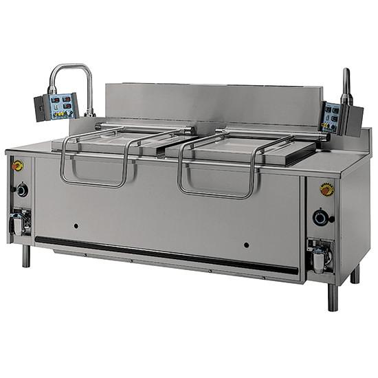 Elektro-Nudelkocher, automatisch, 100+100 Liter