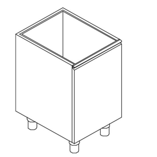 Flaschenschublade, 450x580 mm