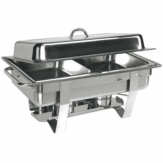 Chafing Dish, 2x GN 1/2, max H=65 mm