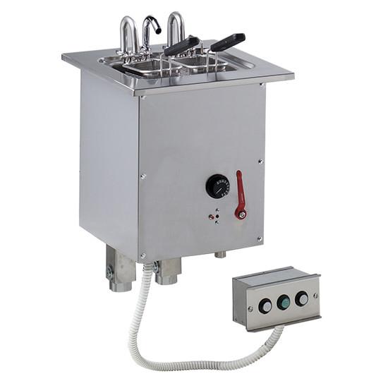 Einbau-Nudelkocher, mit Wasseranschluss, 16 Liter