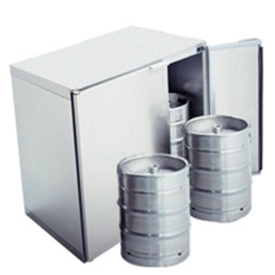 Fässerkühlbox ohne Aggregat, 4x 50 Liter