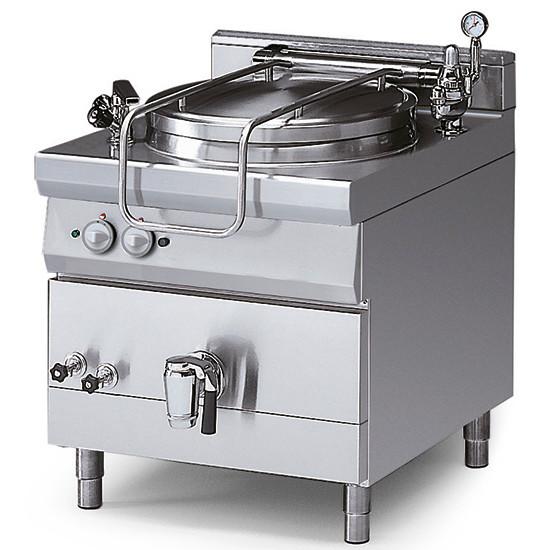 Elektro-Kochkessel, indirekte Beheizung, mit Druckdeckel, 100 Liter