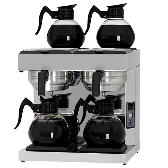 Filterkaffeemaschine, automatisch, 4 Glaskannen 1,8 Liter
