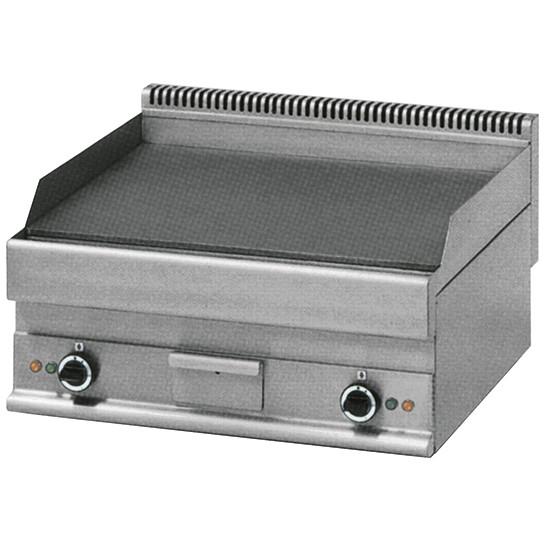 Elektro-Grillplatte, Tischmodell, glatt