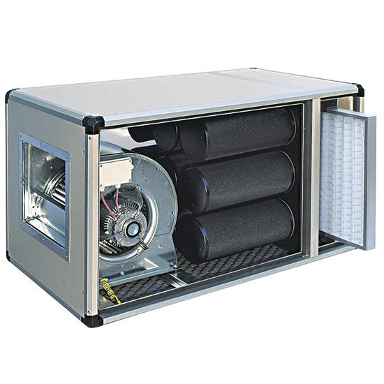 Filtriereinheit mit Direktmotor, 1400 m³/h