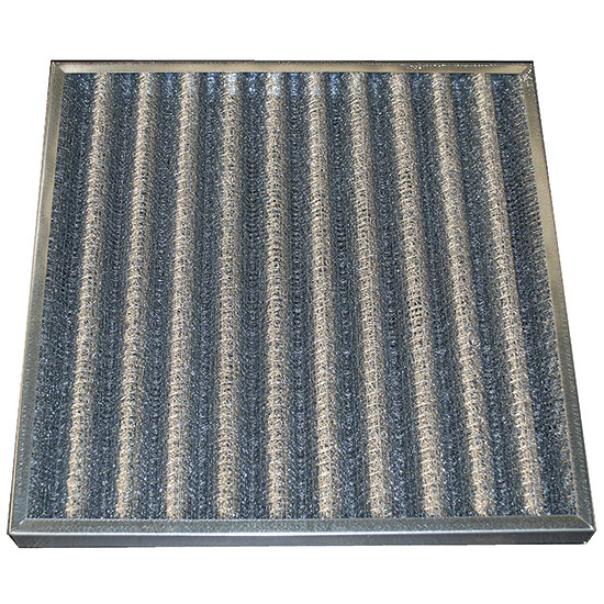 Fettfilter mit Metallgitter 592x592x48 mm