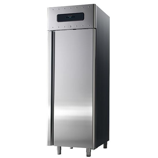 Bäckereitiefkühlschrank 600x400 mm 700 Liter aus Edelstahl, -10 °C/-30 °C